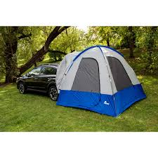 Nissan Rogue Tent - sportz by napier dome to go 4 person hatchback tent blue grey