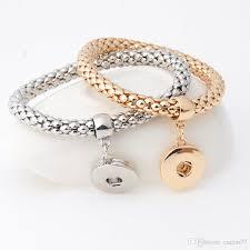 bracelet chain diy images Noosa diy elastic chain bracelet simple design gold silver plated jpg