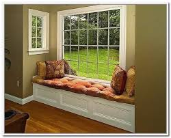 Window Storage Bench Seat Plans by Diy Window Seat Storage Bench Window Bench With Storage Treenovation