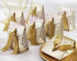 50th wedding anniversary favors 240pcs 50th anniversary favor box with gold ribbon th016 party
