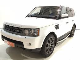 white range rover sport used fuji white land rover range rover sport for sale derbyshire