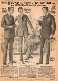 what clothing cost in 1920 u0027s