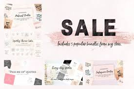 quotes pick me sale 5 packs of quotes instagram templates creative market