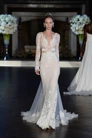 Long Sleeve Wedding Dresses The Best Long Sleeve Wedding Dresses At Bridal Fashion Week