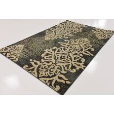 Damask Kitchen Rug Damask Kitchen Rug Damask Personalized Kitchen Rug Vintage
