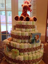 giraffe baby shower diaper cake my crafts u0026 craft ideas