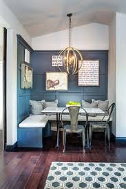 Nook Kitchen Table by Classic Grey And White Kitchen With Brass Hardware And Black