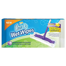 amazon com clean up floor wipes 15 pack home kitchen