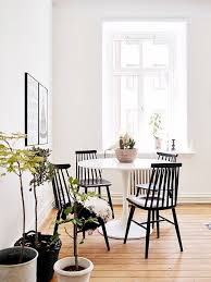 Black And White Dining Room Chairs Best 25 White Dining Chairs Ideas On Pinterest White Dining
