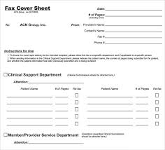 sample general fax cover sheet 10 documents in pdf word