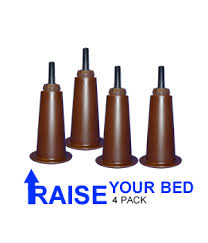 deluxe bed risers raise your bed adding height and storage room