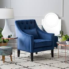 Navy Blue Accent Chair Arm Chairs Hayneedle