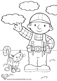 enjoyable bob the builder coloring pages bob the builder coloring