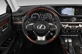 lexus hybrid sedan cost 2016 lexus es300h steering wheel interior photo automotive com