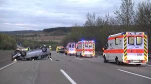 Feuerwehr Bad Hersfeld Unfall Pkw A7 Alkohol Führerschein Polizei Hersfeld Rotenburg