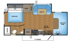 Class B Motorhome Floor Plans by Coach House Platinum Ii 240 Dq U2014 Dinette Queen Perfect Permanent