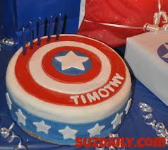captain america cakes how to make a captain america cake suz daily