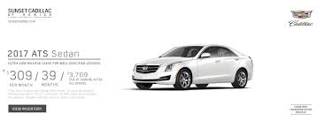 cadillac ats lease specials sunset cadillac of venice is a venice cadillac dealer and a
