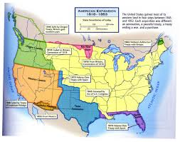 Map Of Western Oregon by American Expansion 1818 1853 Map United States U2022 Mappery Fta