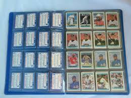 baseball photo album 55 retro 1991 and 1992 cracker mini baseball cards in album