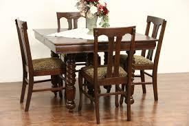 1920 dining room set oak dining room table createfullcircle com