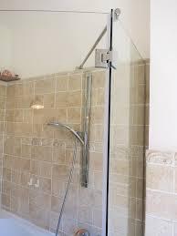 parete fissa doccia parete doccia fissa con ceniere e barra stablizzatrice con anta