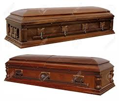 wooden coffin photographs of two wooden coffins stock photo picture and royalty
