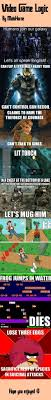 Video Game Logic Meme - video game logic www meme lol com video games pinterest