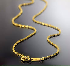 star chain necklace images Authentic solid 24k yellow gold chain necklace full star chain jpg