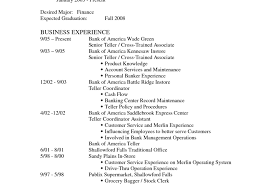resume resume bank teller no experience awesome resume for bank