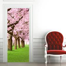 compare prices on cherry bedroom sets online shopping buy low 2 pcs set wall sticker diy mural bedroom home decor poster pvc cherry blossom tree