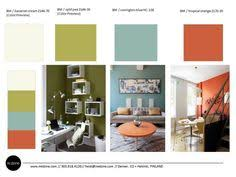 the top 10 paint colors for mid century modern style milk toast