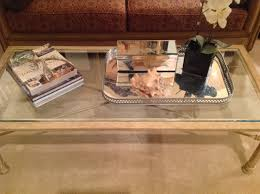 Tray Coffee Table by Decorating A Coffee Table U2026 Designer Style U2013 Designs By Tamela