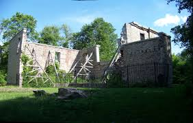 pre halloween spookiness the haunted hermitage ruins canada