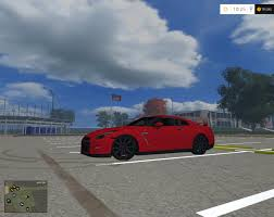 nissan gtr black edition fs15 nissan gtr black edition v1 farming simulator 2017 2015