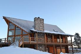 chalet style home plans log home photos rustic chalet home tour expedition log homes llc