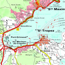 Cannes Map by Pays Varois Verdon Gorges Michelin Zoom Map 114 Michelin Zoom