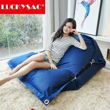 waterproof big cushion 180 140cm fat sack bean bag big bean bag