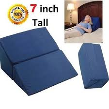 folding bed wedge pillow foam body positioner elevate support back