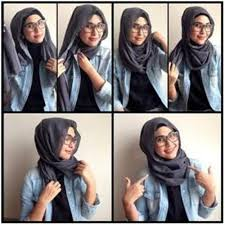 tutorial hijab simple tapi menarik tutorial hijab pashmina simple modern untuk momen santai tutorial