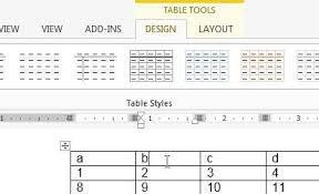 Change Table Color How To Change The Color Of A Table In Word 2013 Solve Your Tech
