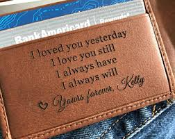 leather anniversary gifts for him leather anniversary etsy