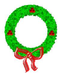 clipart christmas wreath