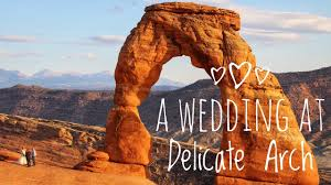 wedding arches national park a wedding at delicate arch arches national park epic road