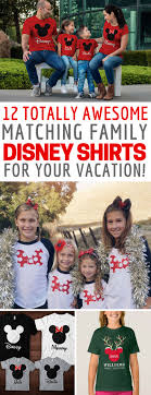 12 totally magic matching disney family shirt ideas for your vacation