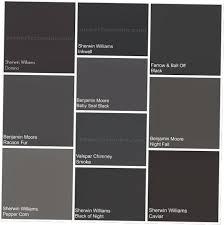 black paint colors black paint colors cool 667 best colors gray
