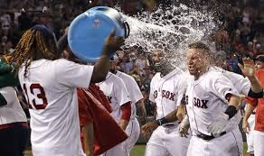 Yardwork Red Sox Indians Brawl - red sox show toughness in playstation win over indians sports