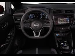 nissan leaf 2017 interior 2018 nissan leaf debuts looking more likely to be offered in uae