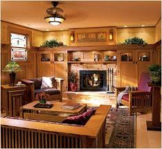 Arts And Crafts Home Interiors Decorative Arts And Crafts Style Living Room With Key Interiors By