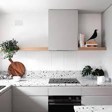 cuisine tout compris le terrazzo dans la cuisine tendance granito côté maison